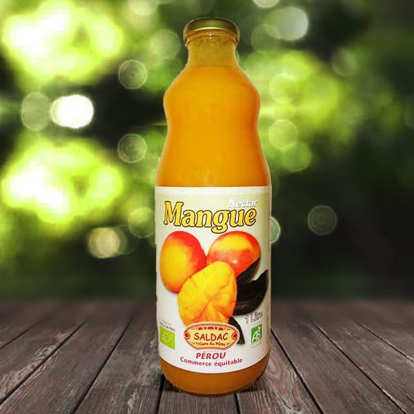 Nectar de mangue bio - Bouteille de 1l
