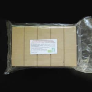 Chocolat blanc de couverture 35% de cacao sans lecithine bio