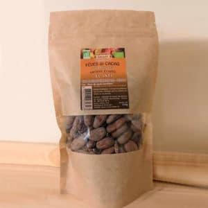 Fèves de cacao torréfiées bio