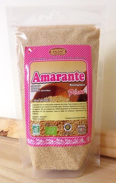 Amarante biologique du Pérou
