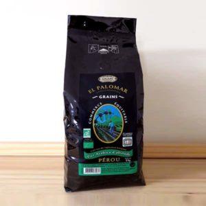 Café Torréfié biologique en grains