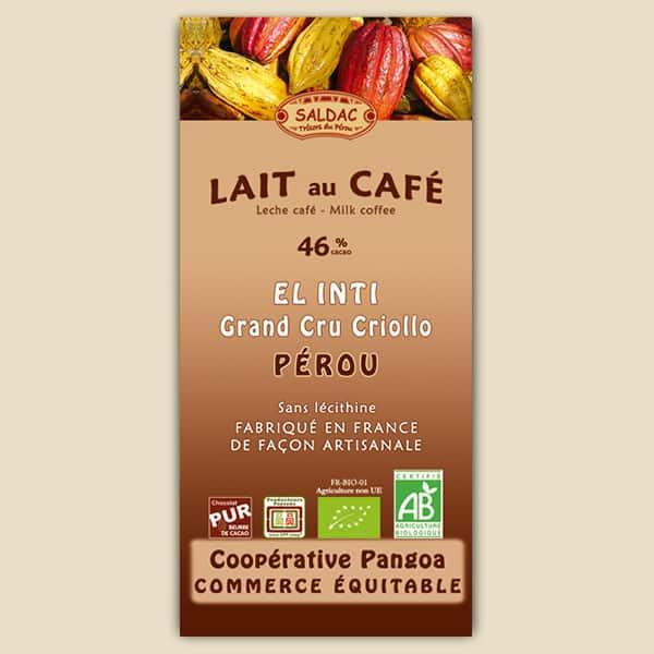 Chocolat El Inti - Lait au Café