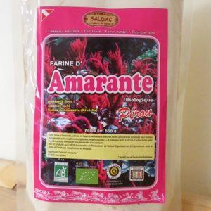 Farine d'Amarante biologique du Pérou