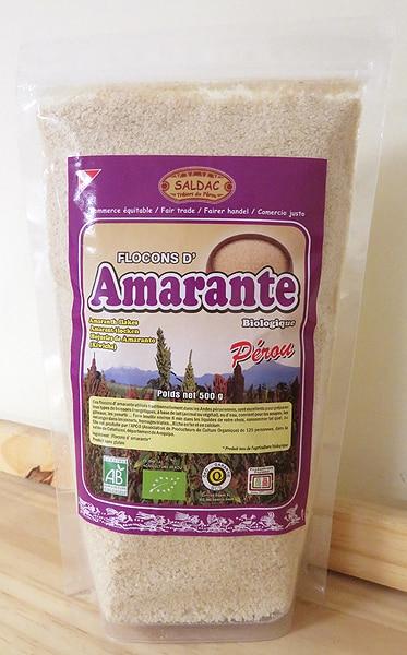 Flocons d'Amarante biologique du Pérou