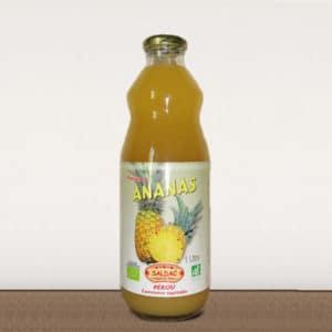 Pur Jus d'Ananas Bio du Pérou - 1 litre