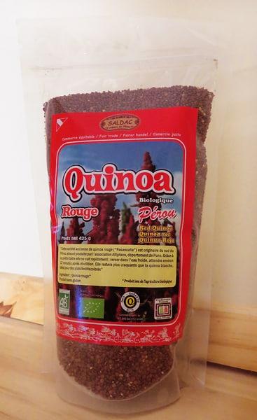Quinoa Rouge Biologique du Pérou