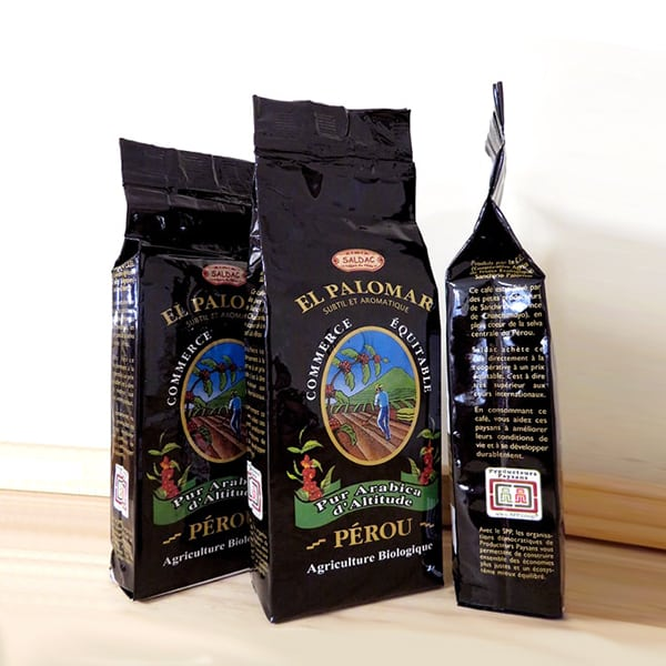 Café moulu bio - Paquet de 250g