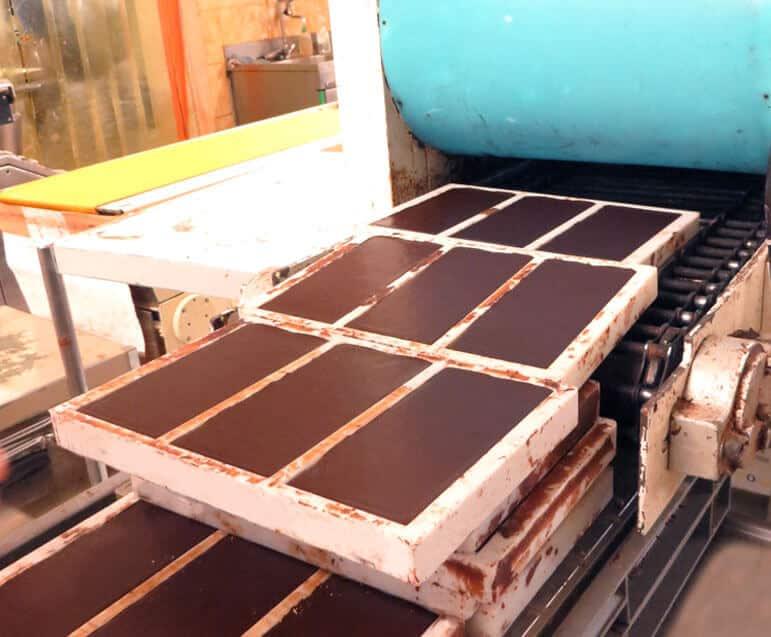 Fabrication du chocolat - Refroidissement
