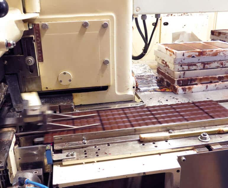 Fabrication du chocolat - Emballage