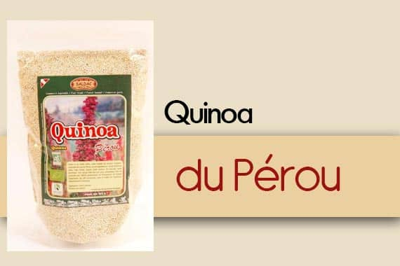 Quinoa du Pérou - Produit Exclusif de Saldac