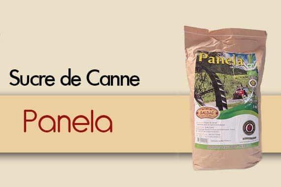 Sucre de Canne Panela importé par Saldac