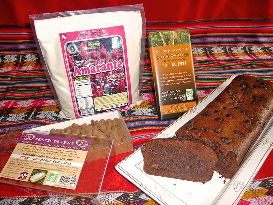 Gateau au chocolat El Inti - SALDAC