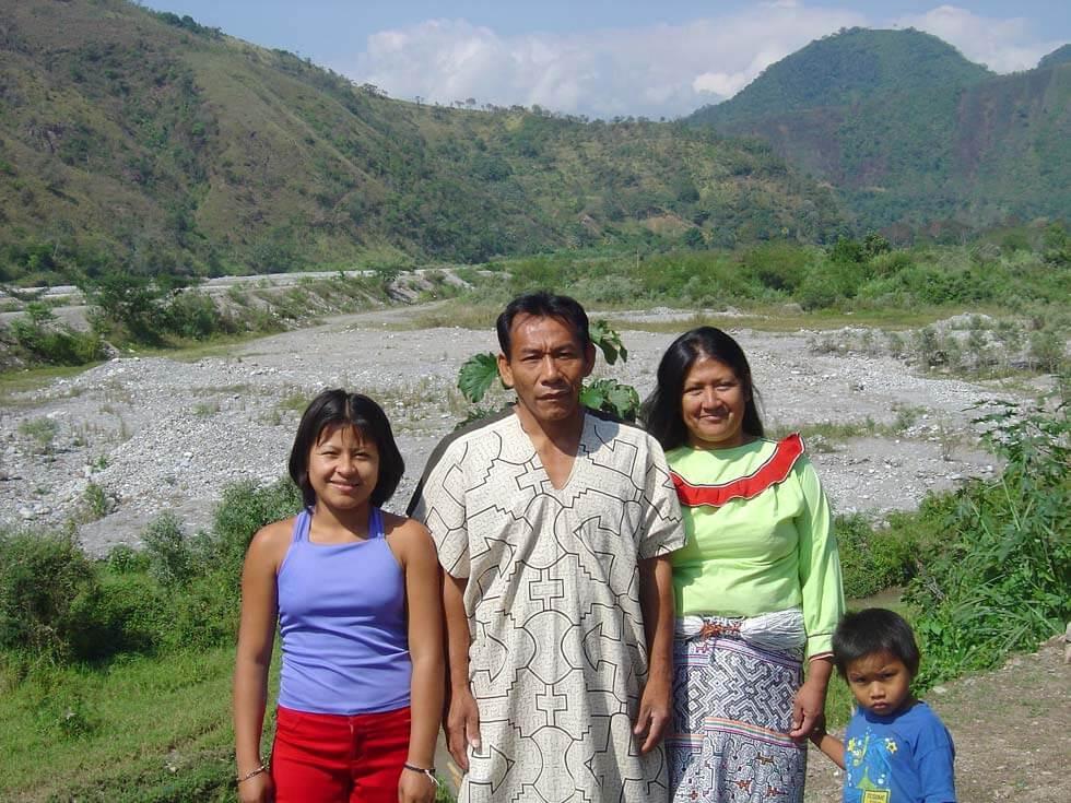 La famille de Lucinda et Julio