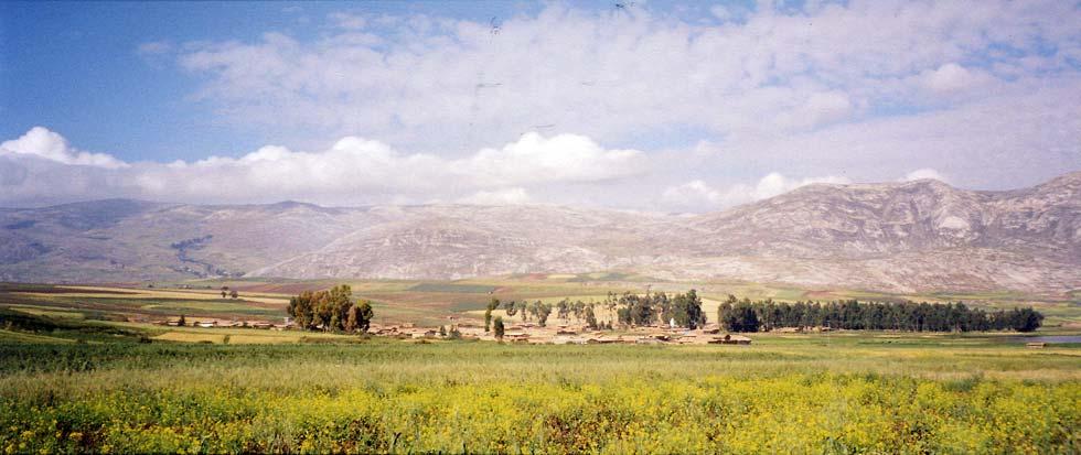 La vallée du Mantaro dans les Andes centrales