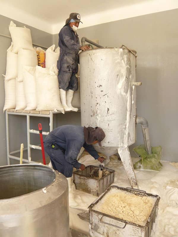 Lavage de la Quinoa à l'eau
