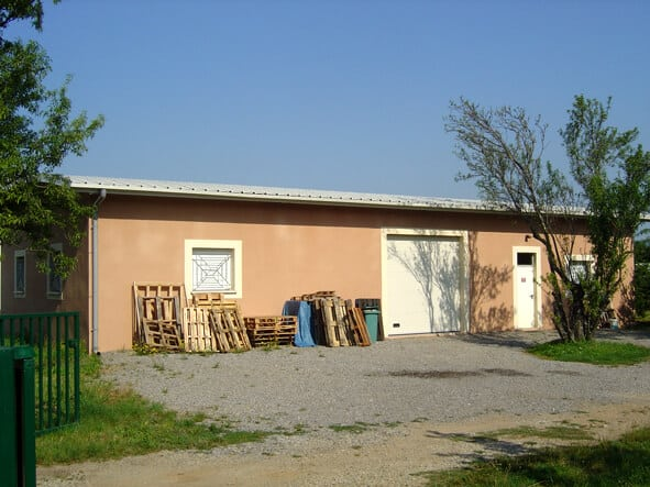 Le local de SALDAC, construit en 2006