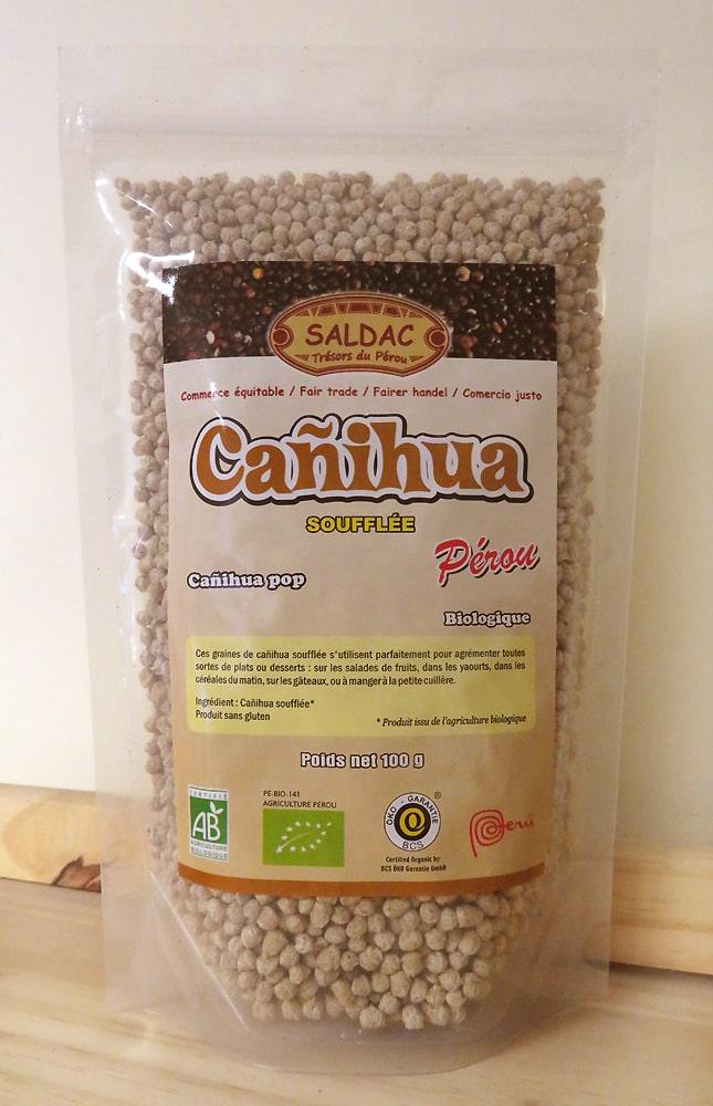 Canihua pop soufflée - Produit bio du Pérou