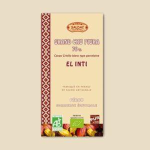 Chocolat noir grand cru piura - 76%