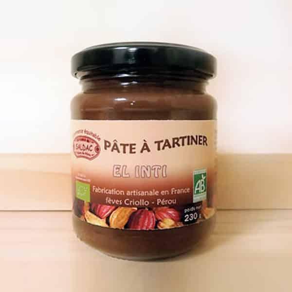 Pâte à Tartiner Artisanale El Inti à base de Cacao Criollo