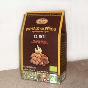 Physalis enrobés de chocolat bio