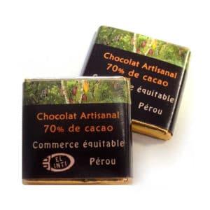 Napolitains biologiques - 70% par kilo sans lecithine