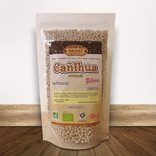 Canihua Soufflée bio du Pérou